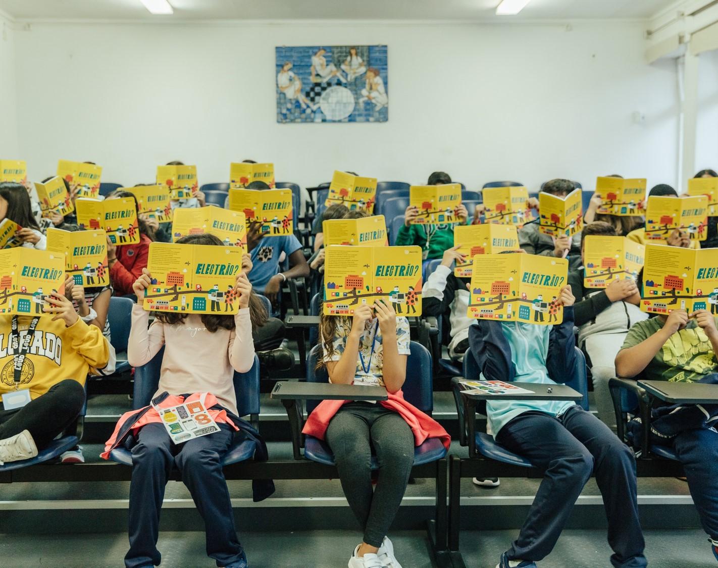 Electrão Assinala Dia Internacional Dos Resíduos Eléctricos Com Lançamento De Livro Infantil