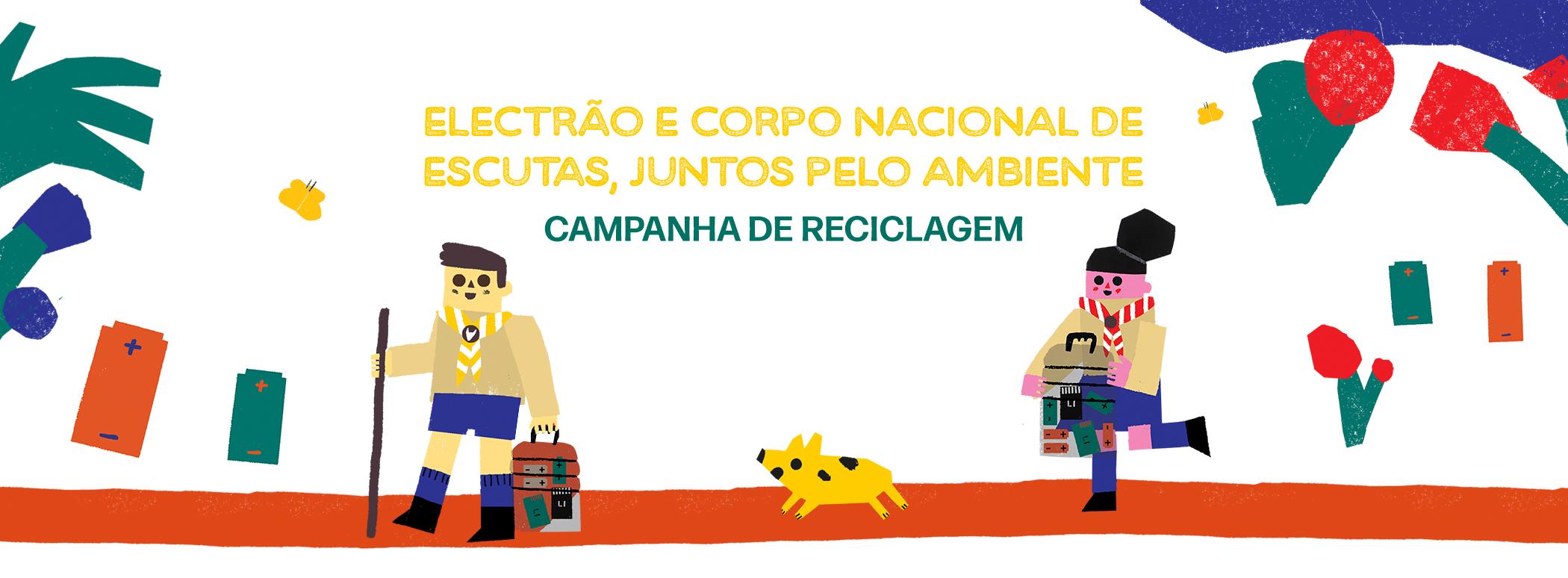Electrão Promove Campanha Com Corpo Nacional De Escutas