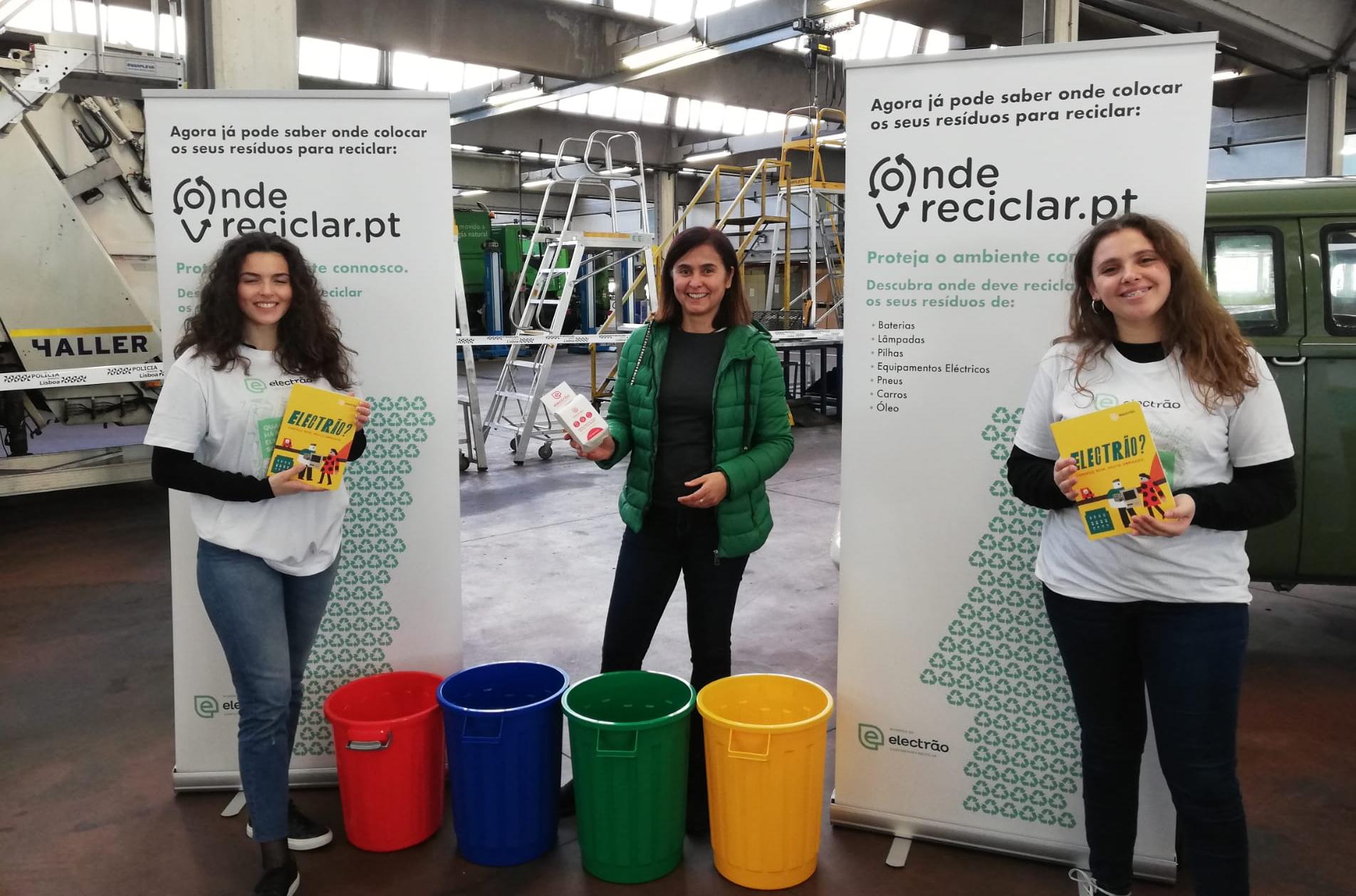 Electrão Promove Acção De Sensibilização Em Evento Da Câmara Municipal De Lisboa